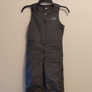 Kid's Size 5 North Face Snowdrift Ski/Snow Bibs